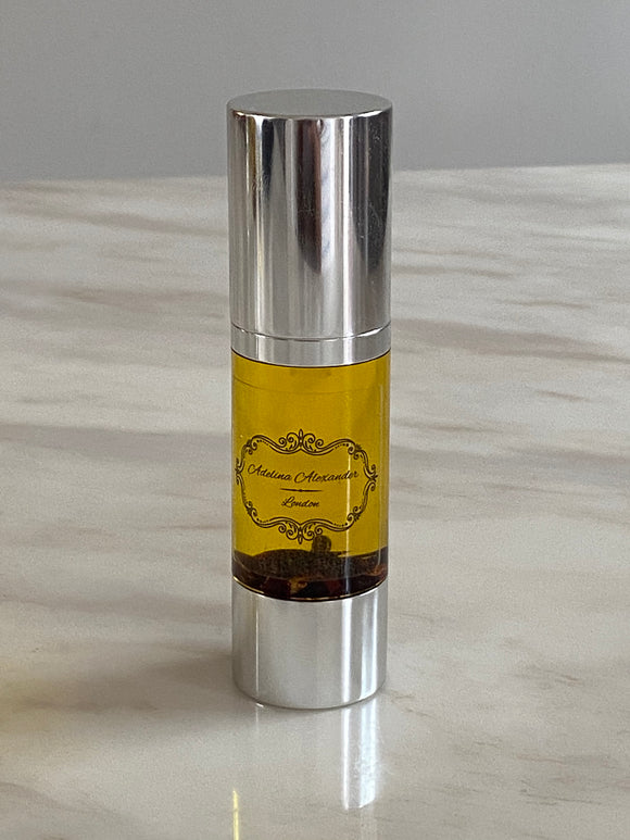 Face Serum in Silver