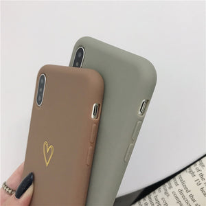 Heart Phone Case for Iphones