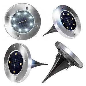 LED Solar Powered Aluminium Lawn Lights