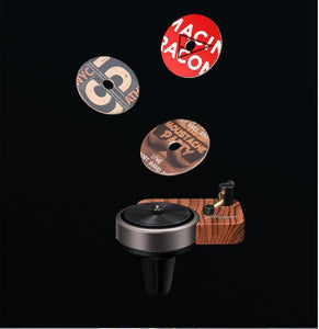 Record player Car Perfume