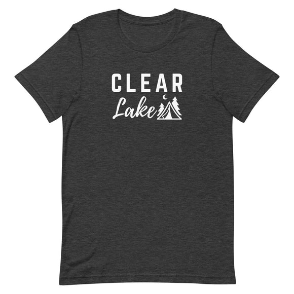 Clear Lake Short-Sleeve Unisex T-Shirt