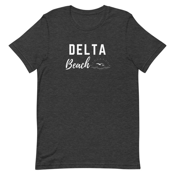 Delta Beach Short-Sleeve Unisex T-Shirt