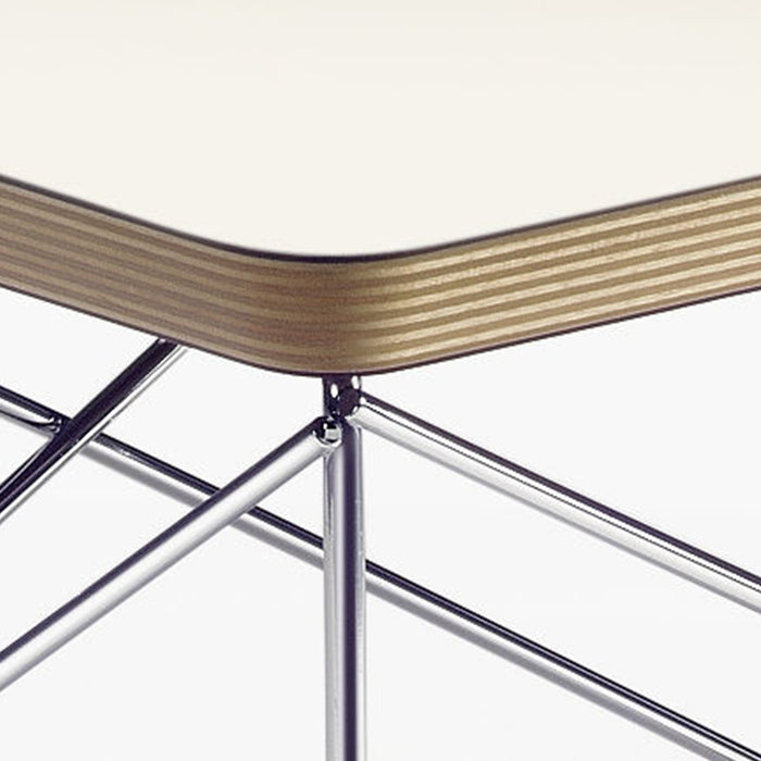 Vitra Occasional Table LTR, Hvit/Krom