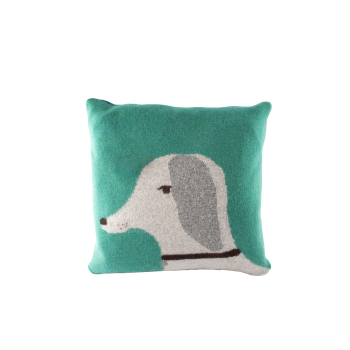 Donna Wilson Dog Cushion Turkis