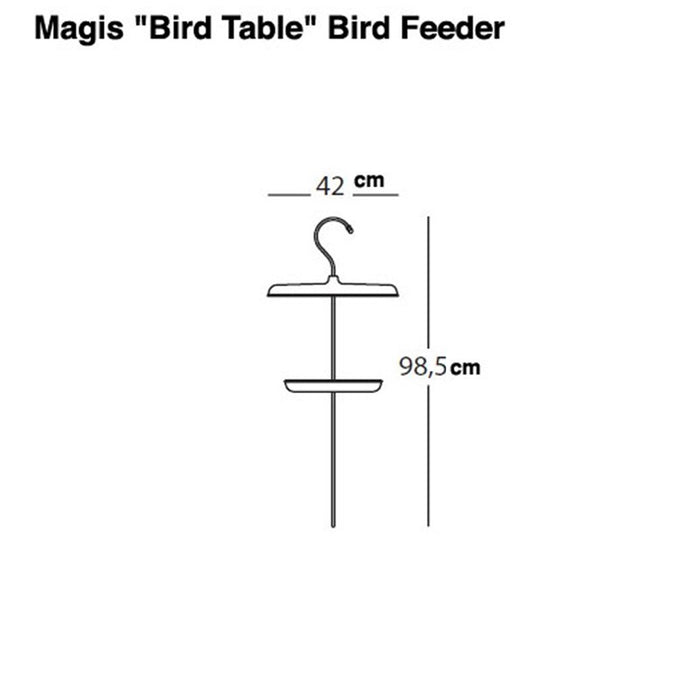 Magis Bird Table, Grønn