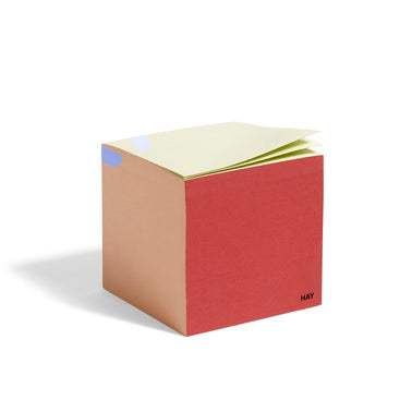 HAY PAPER CUBE, Rusty Red