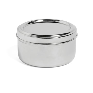HAY Steel Lunch Box, Round with Tray