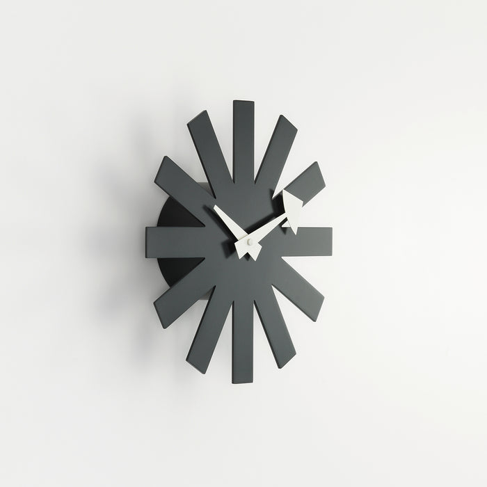 Vitra Asterisk Clock, Sort