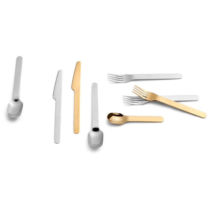 HAY EVERYDAY CUTLERY - Fork, gold finish, 5 pk.