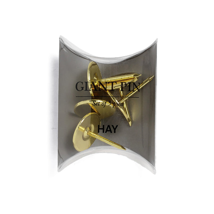 HAY Giant Pin x5, Gold