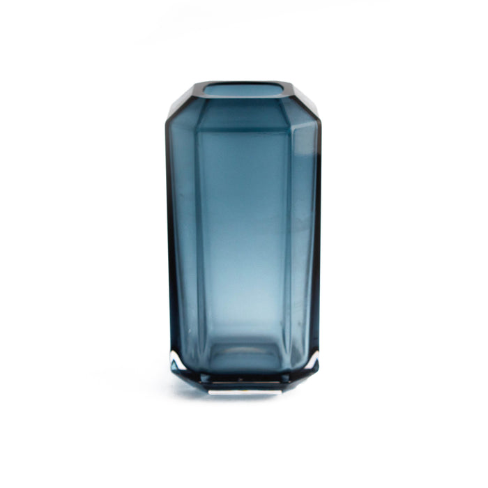 Louise Roe Jewel Ø8cm H16cm Vase, Blue