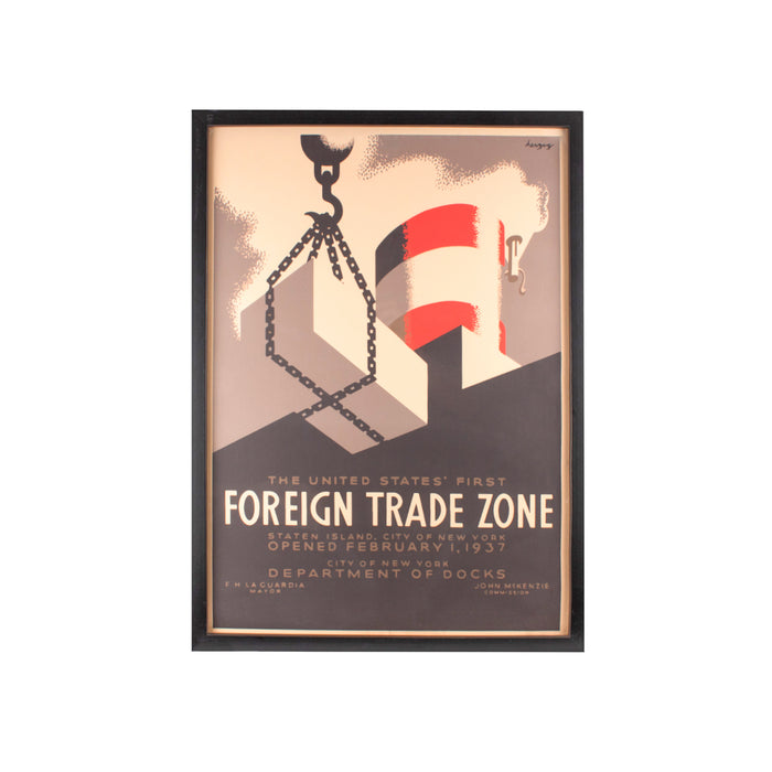 Henrik Dybdahl Foreign Trade Zone, 65x45