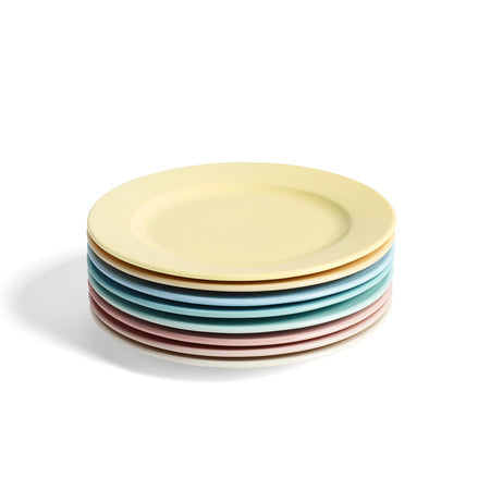 HAY Rainbow Plate M, warm yellow