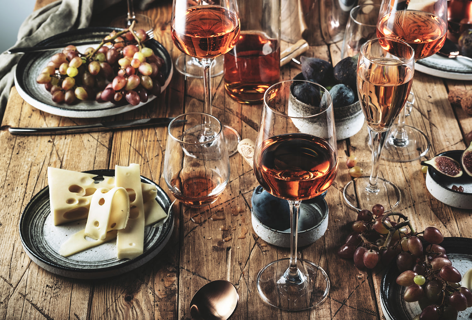 Grenache is versatile, it makes refreshing, food-friendly fruity rosés and sparkling wines as well.