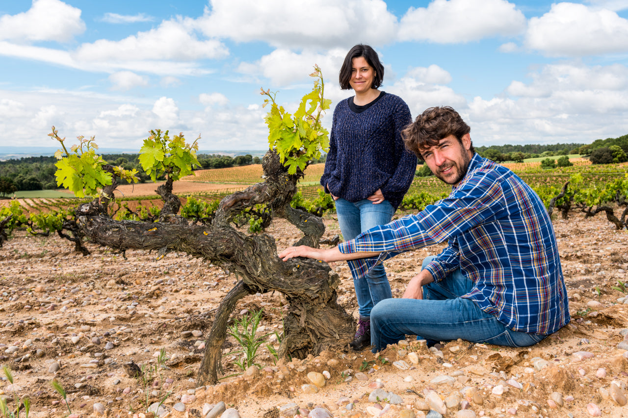 Jorge and Isabel Monzón from Dominio del Águila work with some 100 year old vineyards in Ribera del Duero.
