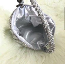 Load image into Gallery viewer, Crystal drop mini bag interior