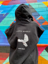 Load image into Gallery viewer, I love myself zip up hoodie. Ultra cotton BLKEVRTH