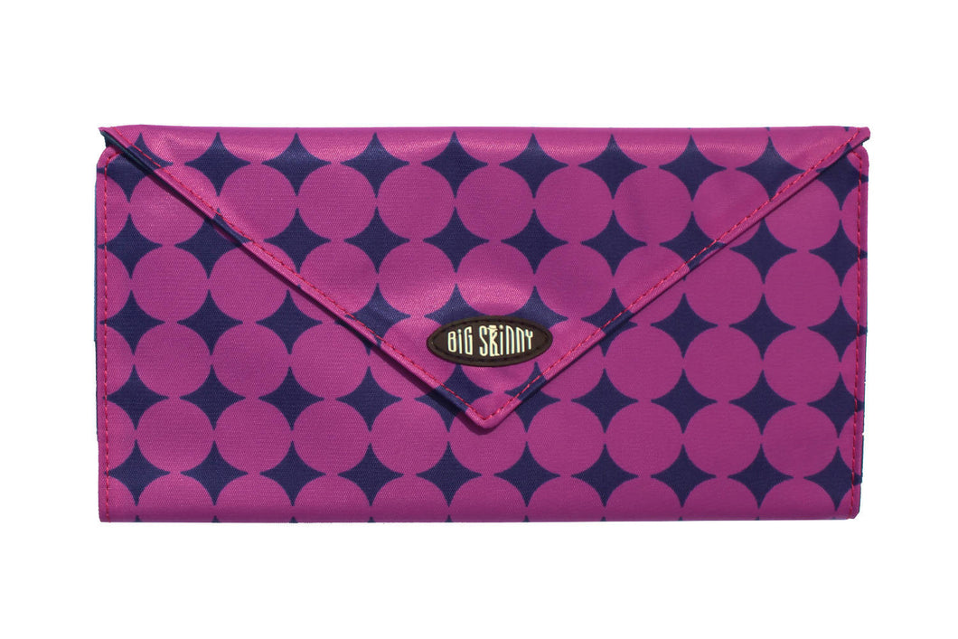 Slimvelope Wallet Plum Dot