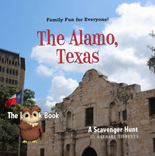 Load image into Gallery viewer, The LOOK Book, The Alamo, Texas