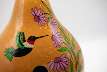 Load image into Gallery viewer, Hummingbird Birdhouse Gourd