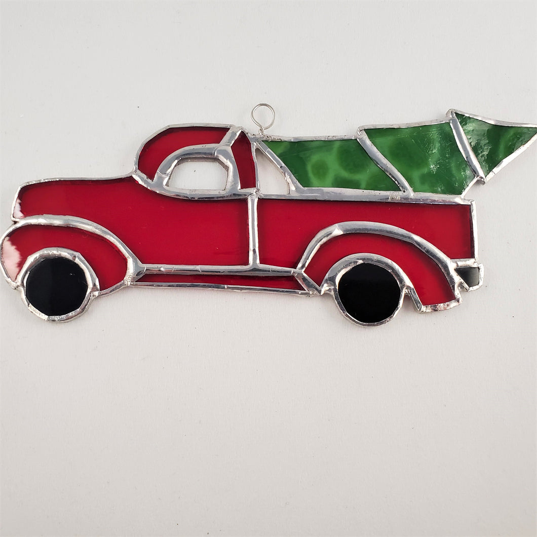 Christmas Tree Farm Truck Ornament