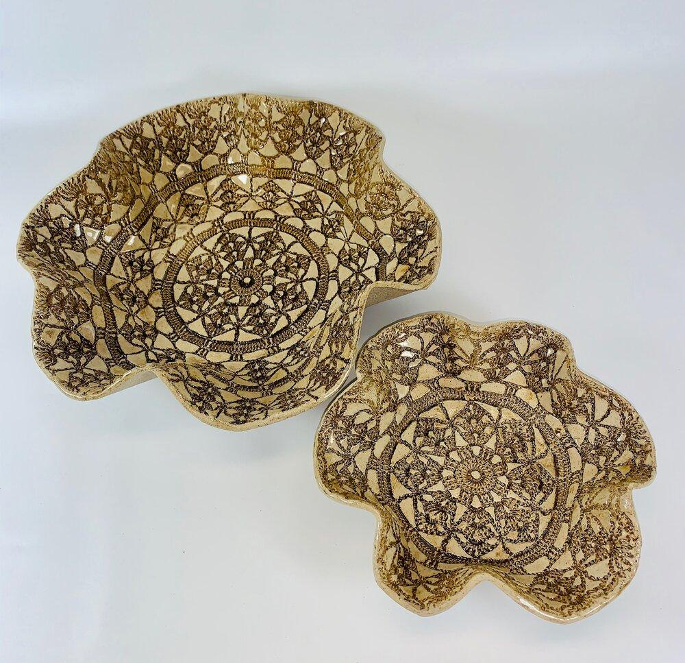 Lace Bowl Set - Artisan Giftmas