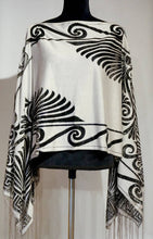 Load image into Gallery viewer, The Flutter Shawl - Grecian Design