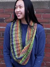 Load image into Gallery viewer, Yikes Stripes Infinity Scarf