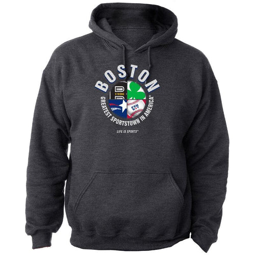 Boston 4 Symbols Greatest Sportstown® Hoodie - Artisan Giftmas