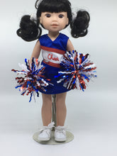 Load image into Gallery viewer, Wellie Wisher Cheerleader Doll Outfit with Sneakers