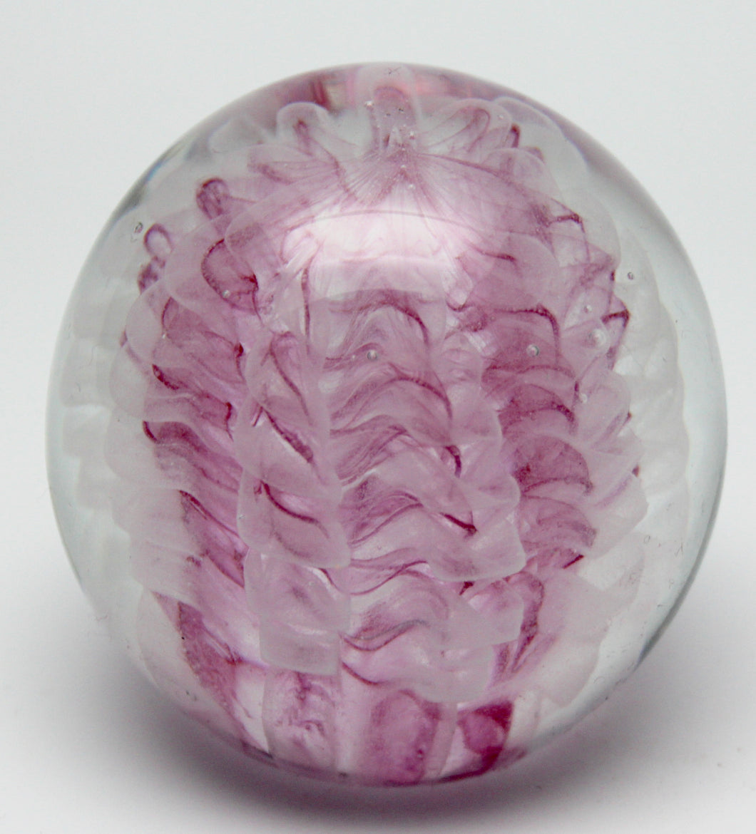 Pink Feathers - Large Paperweight