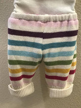 Load image into Gallery viewer, Baby pants made from a cotton sweater