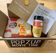 Load image into Gallery viewer, Popzup Movie Time Popcorn Kit