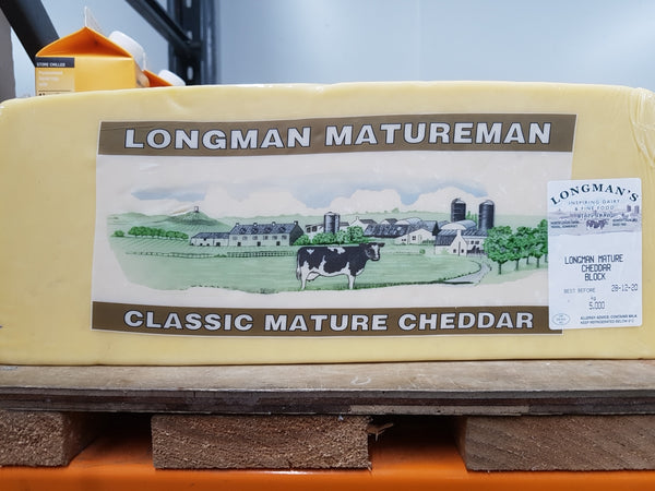 Mature Cheddar Cheese 2.5kg (approx)