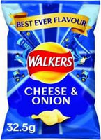 Cheese and Onion Crisps (32.5g)