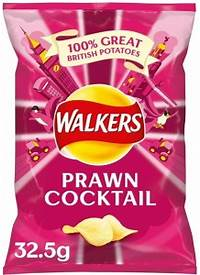 Prawn Cocktail Crisps (32.5g)