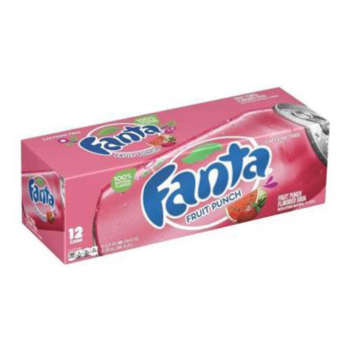 Fanta Fruit Punch | Per Case