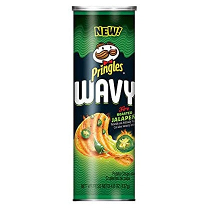 Pringles®Wavy Fire Roasted Jalapeno