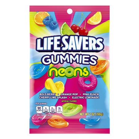 LIFESAVERS Gummies Neon