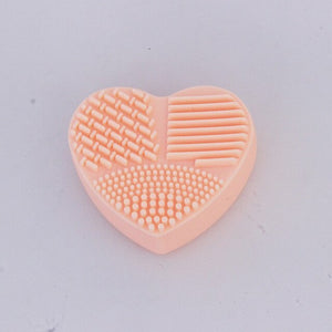 Heart Shaped Scrubber Board Brush Cleaner