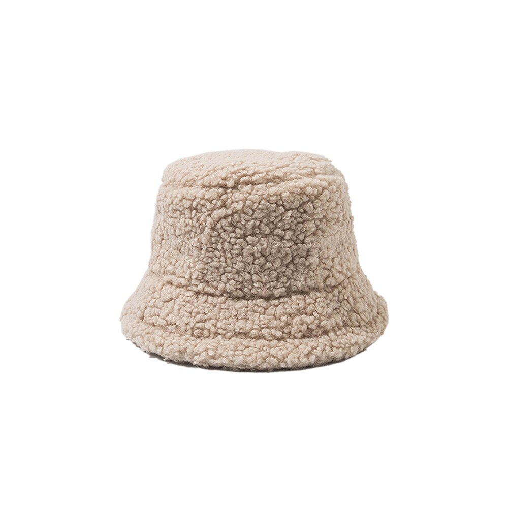 Fashionable Knitted Wool Bucket Hat
