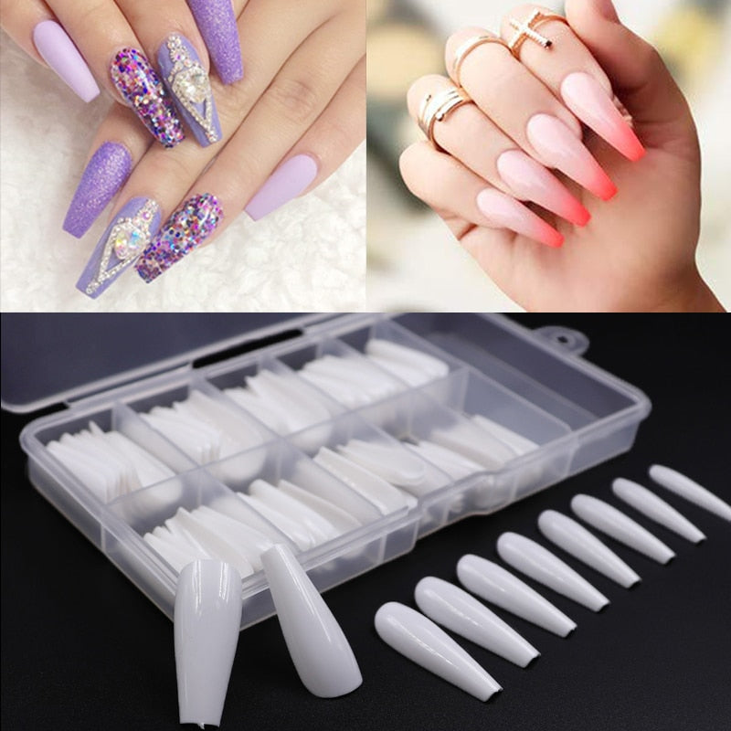 100 Piece Fake Nails Collection