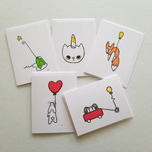 Load image into Gallery viewer, unicat | Greeting Cards