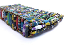 "Load image into Gallery viewer, Handbag with paper beads ""Colorful"""