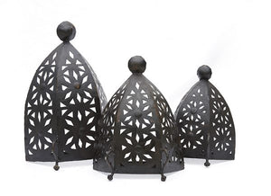 Moroccan Cut Out Metal Wall Sconce