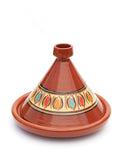 Medium Glazed Moroccan Cooking Tagine 10.5' Diameter