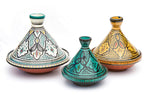 "Small Moroccan Serving Tagine 9"" Diameter"