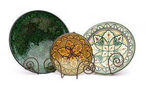 Moroccan Serving Plates