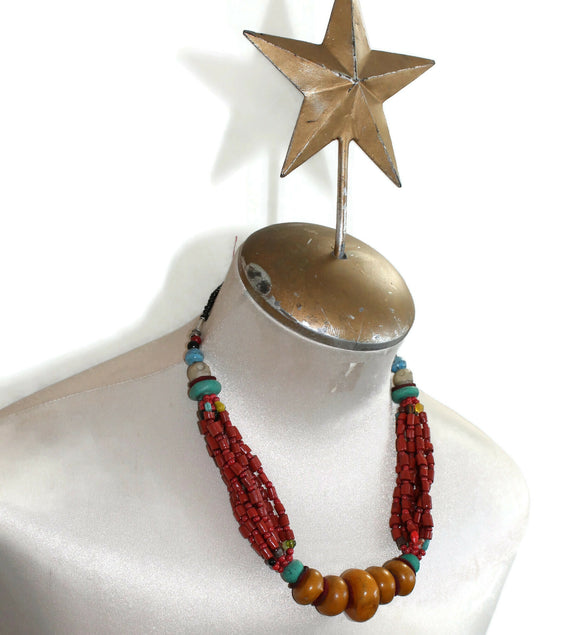 Bold North African Berber Necklace