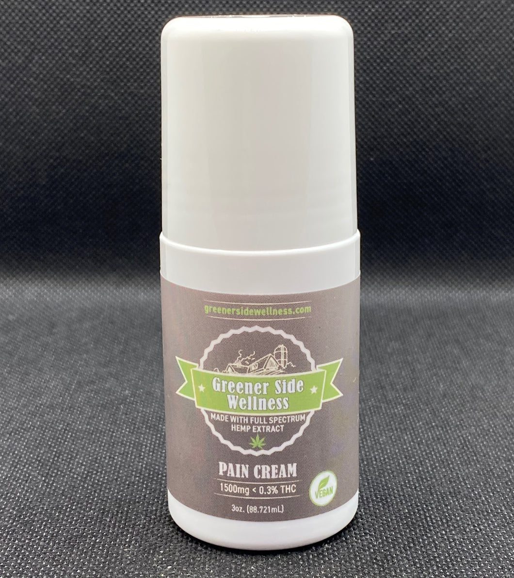 CBD Pain Cream 3oz Roll On 1500mg